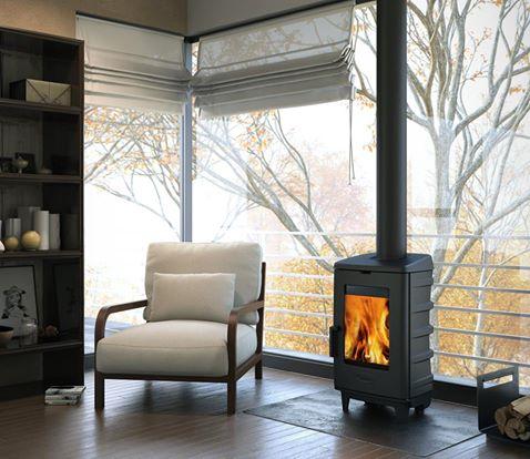 Beneficios de instalar una chimenea i chimeneas llofr o - Como instalar una chimenea de lena ...